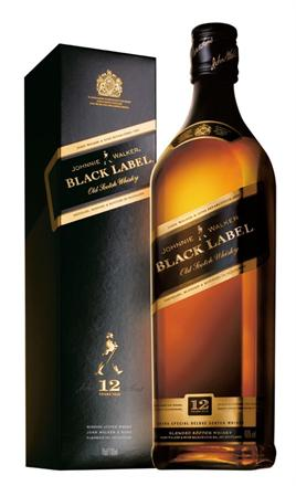 Johnnie Walker Scotch Black Label 12 Year